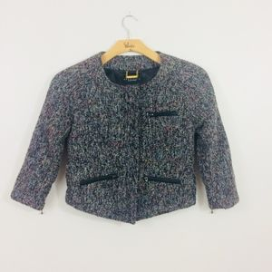 Anthropology Sanctuary ClothingTweed Blazer Small